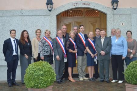 Conseil municipal 2014 La Muraz