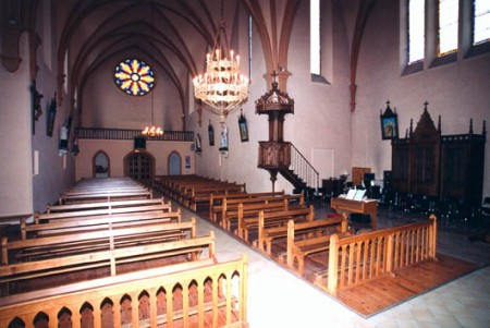 Intérieur église de La Muraz