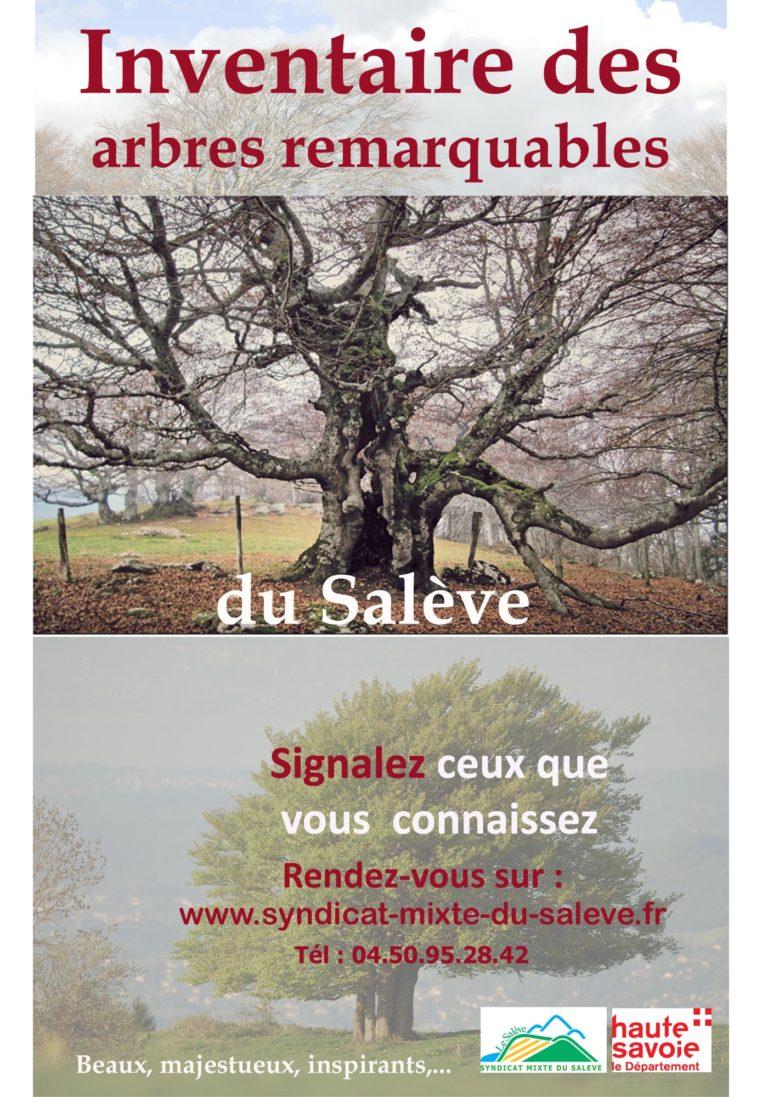 arbres remarquables affiche 2018