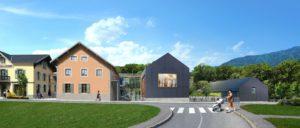 Plan architecte groupe scolaire