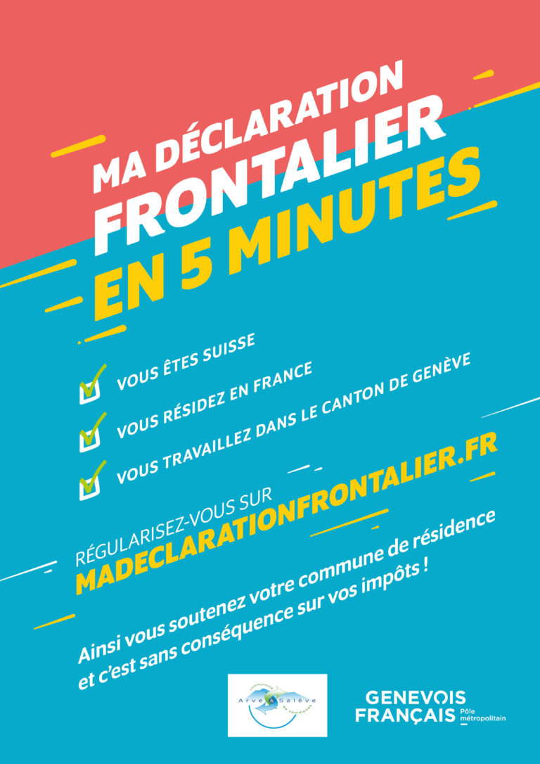 Déclaration frontaliers 2019